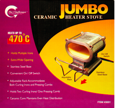 Ceramic Jumbo Heater Stove