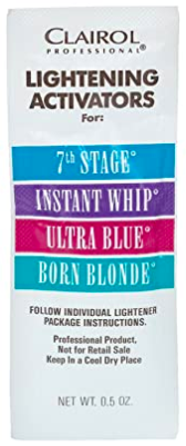 Clairol Professional Lightening Activator Packet 7th Stage 0.5oz