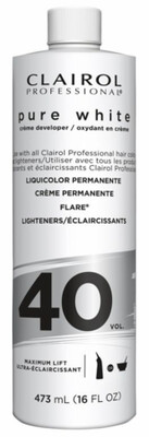 Clairol Professional Pure White Creme Developer
