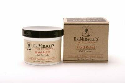 Dr Miracle's Braid Relief Gel Formula 4oz