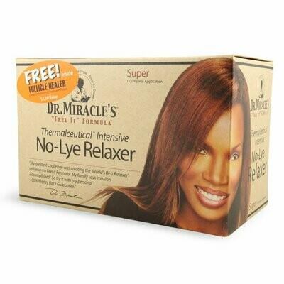 Dr Miracle No Lye Relaxer Super