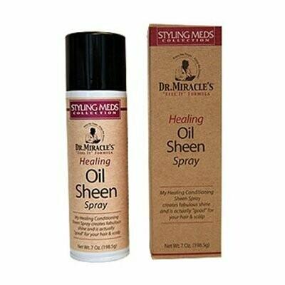 Dr Miracle's Oil Sheen Spray Styling Meds  7oz
