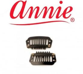 Annie Wig Clips Black