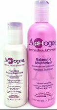Aphogee Balancing Moisturizer 8.45oz  & Two-step Protein Treatment