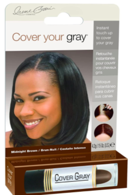 Cover Your Gray Stick Midnight Brown