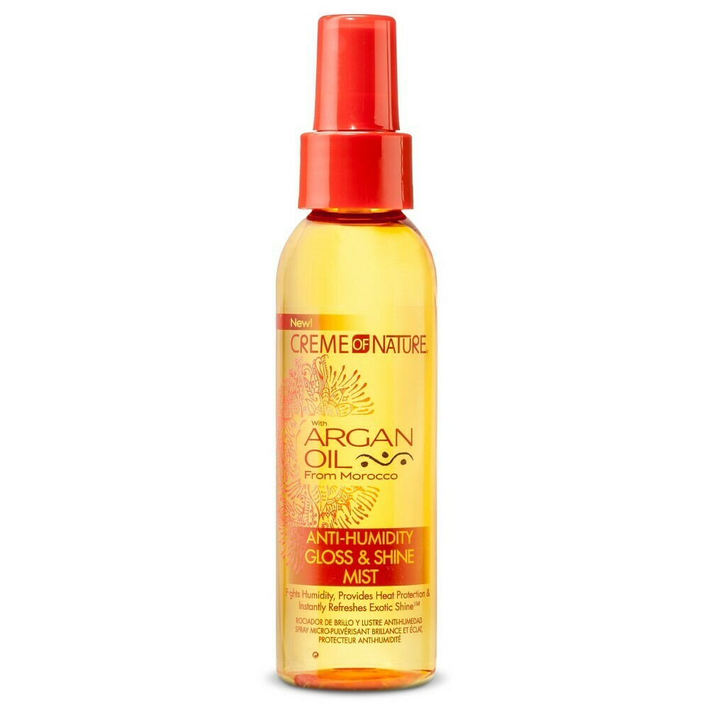 Creme Of Nature Argan Oil Anti-humidity Gloss & Shine Mist 4oz