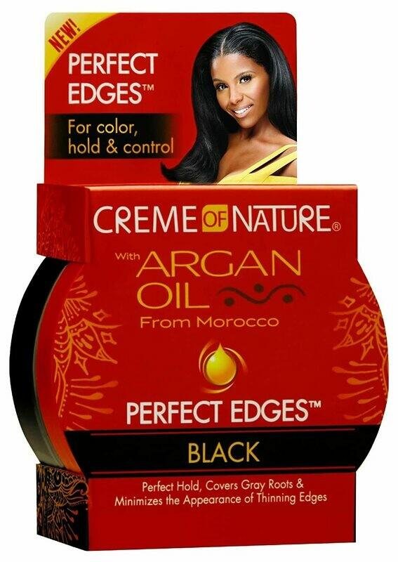 Creme Of Nature Edge Control Black