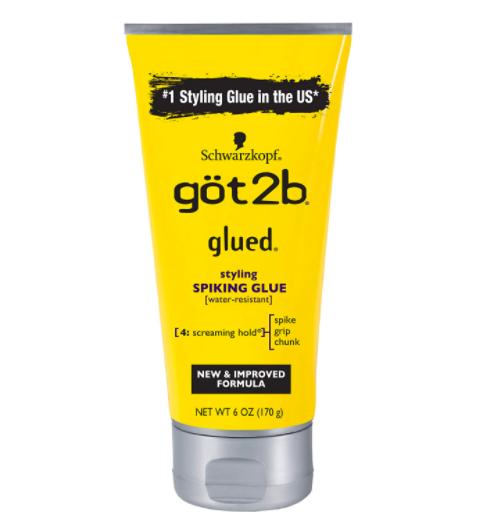 got2b Styling Spiking Glue Spike Grip Chunk (Yellow) 6oz