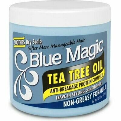 Blue Magic Tea Tree Oil Anti-breakage Protein Complex 13.75oz