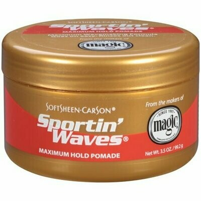 Softsheen Carson Sportin' Waves Maximum Hold Pomade 3.5oz