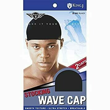 Wave Cap Stocking Ultra Stretch Breathable Color Black