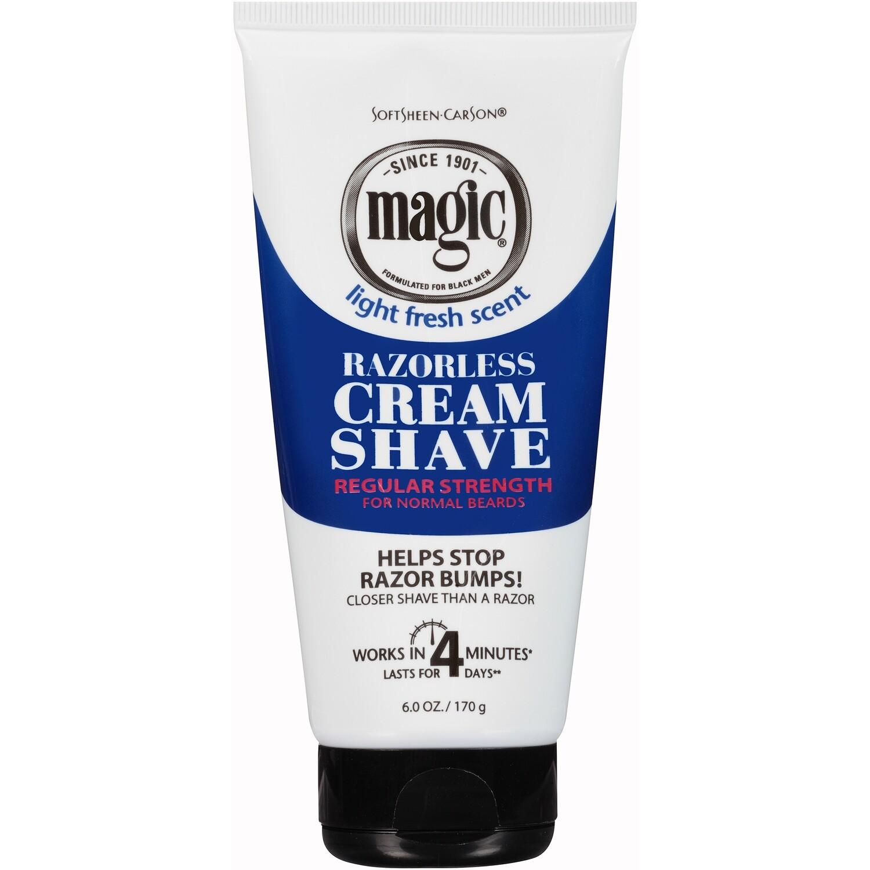 Softsheen carson Magic Razorless Cream Shave 6oz