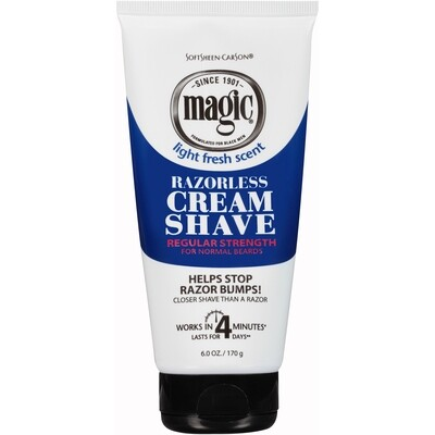 Softsheen carson Magic Razorless Cream Shave 6oz