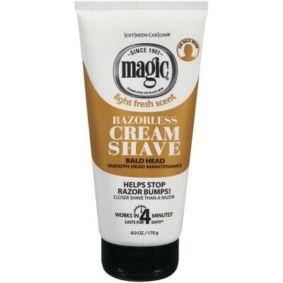 Magic Razorless Cream Shave Bald Head