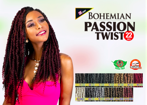 Bohemian Passion Twist 22inch Biba