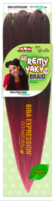 Remy Yaky 48 Inches Braiding Hair From Biba