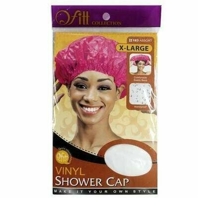 X-large Vinyl Shower Cap Assort