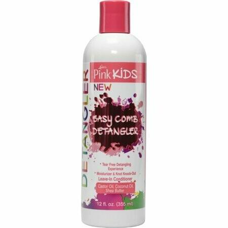 Luster's Pink Kids Easy Comb Detangler 12oz