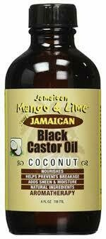 Jamaican Mango & Lime Black Castor Oil Coconut 4oz