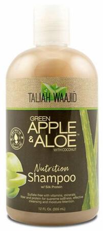 Taliah Waajid Green Apple & Aloe Nutrition Shampoo 12oz