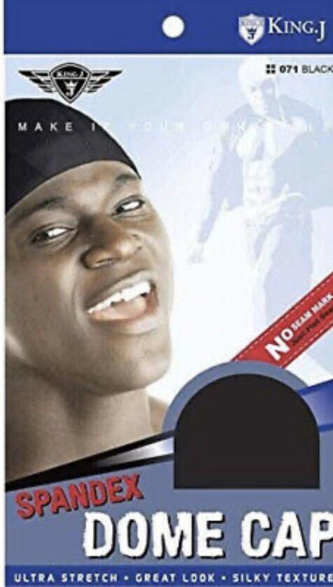 King J Spadex Dome Cap Black