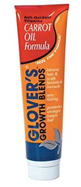 Glover's Growth Blends Anti-oxidant Vitamins Carrot Oil Formula 5oz
