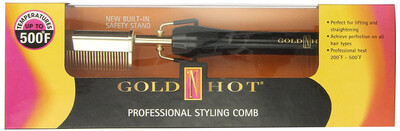 Gold N Hot 24k Gold Pressing And Styling Comb