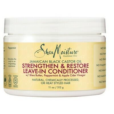 Shea Moisture Jamaican Black Castor Oil Leave-in Condition 11oz