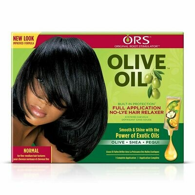 ORS Olive Oil Built-In-protection No-lye Hair Relaxer Normal Kit