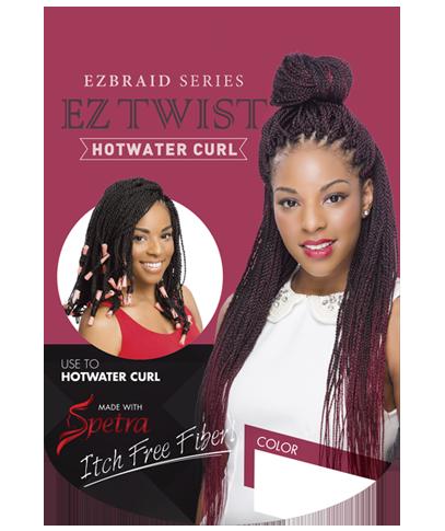 "EZ Twist Hotwater Curl 20"" Innocence"