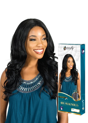"""Fashion Source Butterfly Collection Half Wig """"Magnolia"""""""