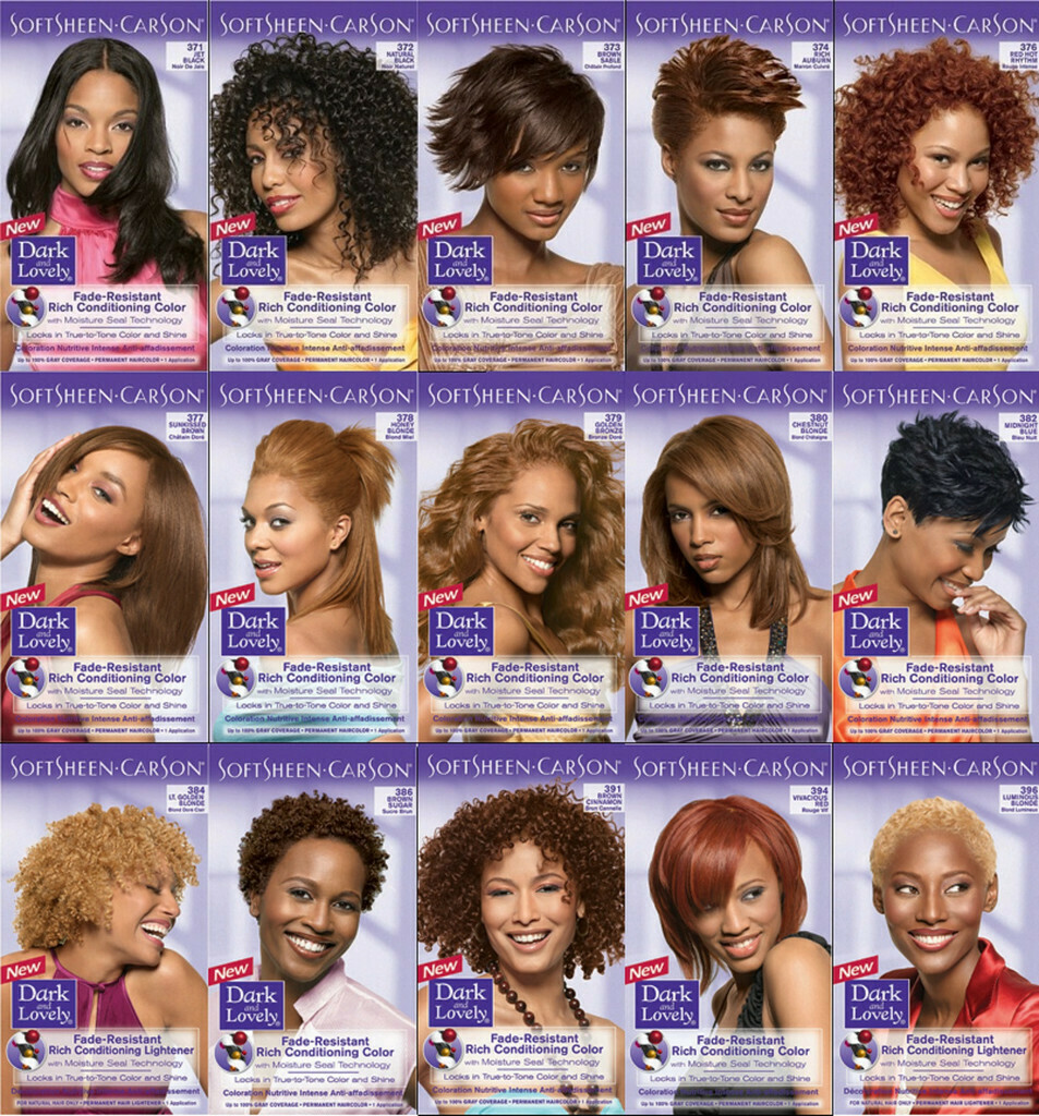 Dark and Lovely Hair Color - Fade Resist