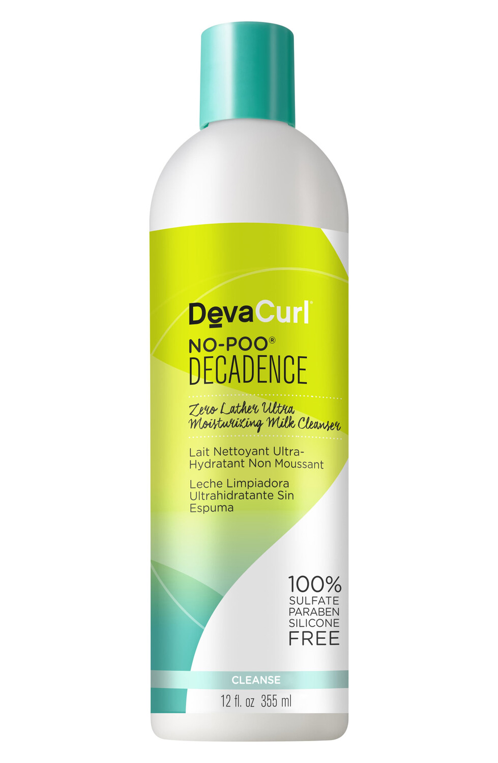 Deva Curl No-Poo Decadence Zero Lather Ultra Moisturizing Milk Cleanser