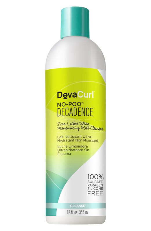 Deva Curl No-Poo Decadence Zero Lather Ultra Moisturizing Milk Cleanser