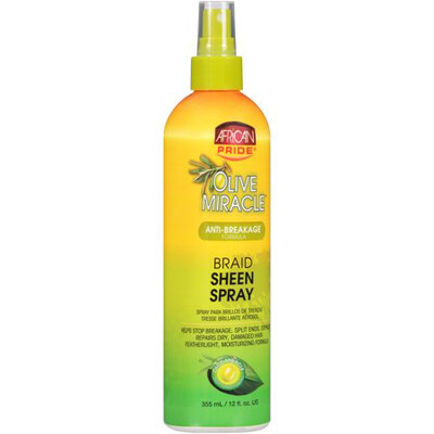 African Pride Braid Sheen Spray Anti Breakage