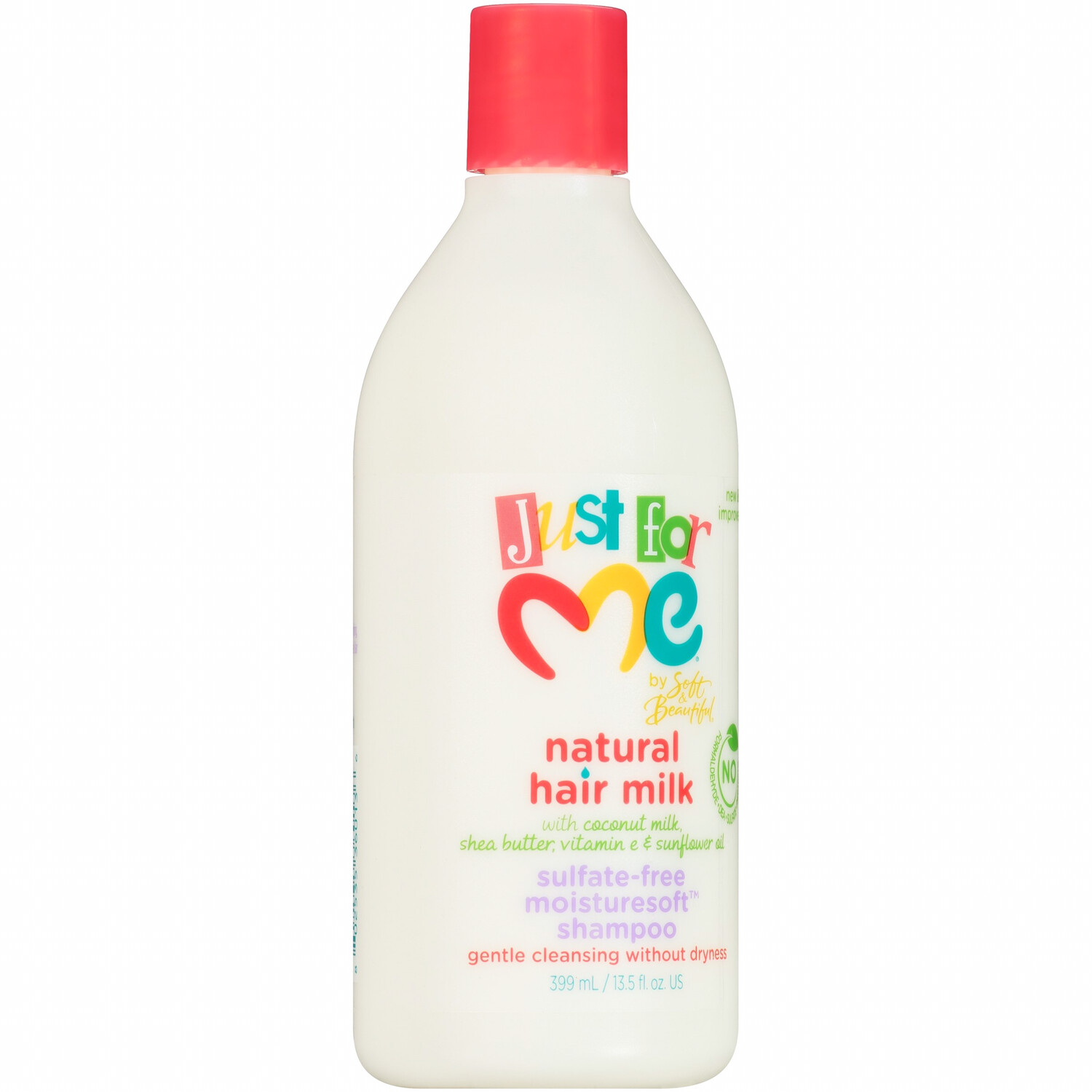 Just For Me Natural Hair Milk Sulfate-free Moisturesoft Shampoo
