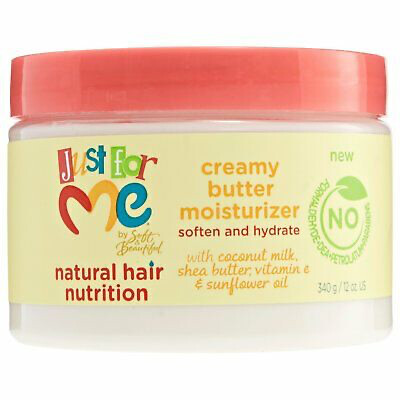 Just For Me Natural Hair Nutrition With Coconut Milk