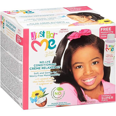 Just For Me No Lye Conditioning Creme Relaxer Kit Super For Children