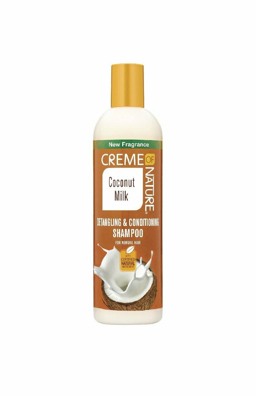 Creme Of Nature Coconut Milk Detangling & Conditioning Shampoo