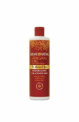 Creme Of Nature Argan Oil Moisture & Shine Curl Activator Creme For Natural Hair