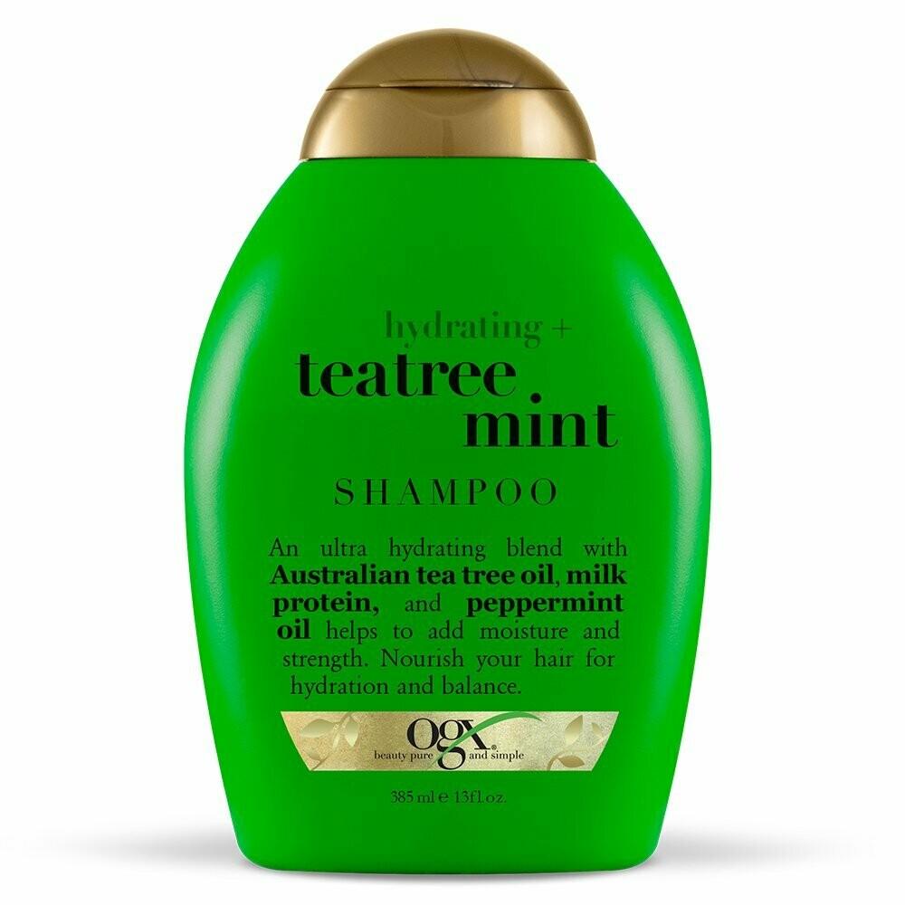 Ogx Hydrating + Teatree Mint Shampoo