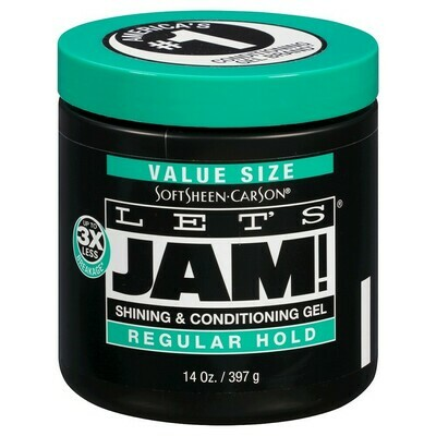 Dark And Lovely Let's Jam Conditioning And Shine Gel Regular Hold 14oz