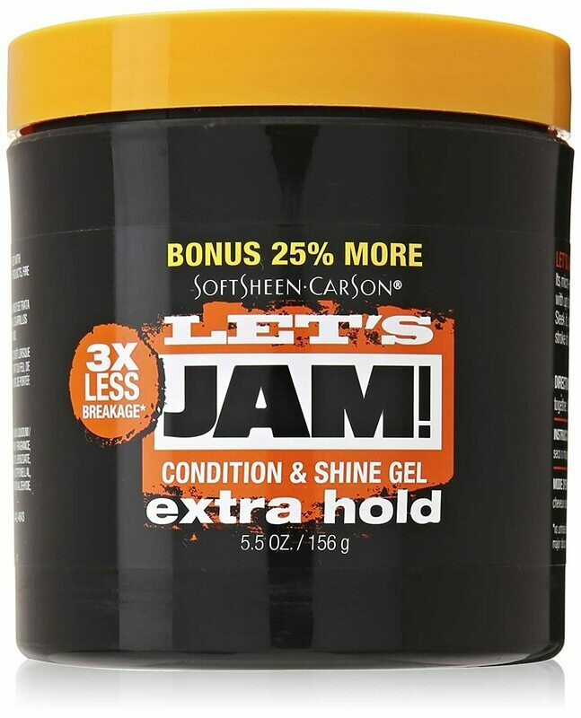 Lets Jam Condition & Shine Gel Extra Hold 5.5 Oz
