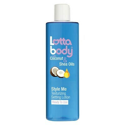 Lotta Body With Coconut & Shea Oils Style Me Texturizing Setting Lotion 12oz