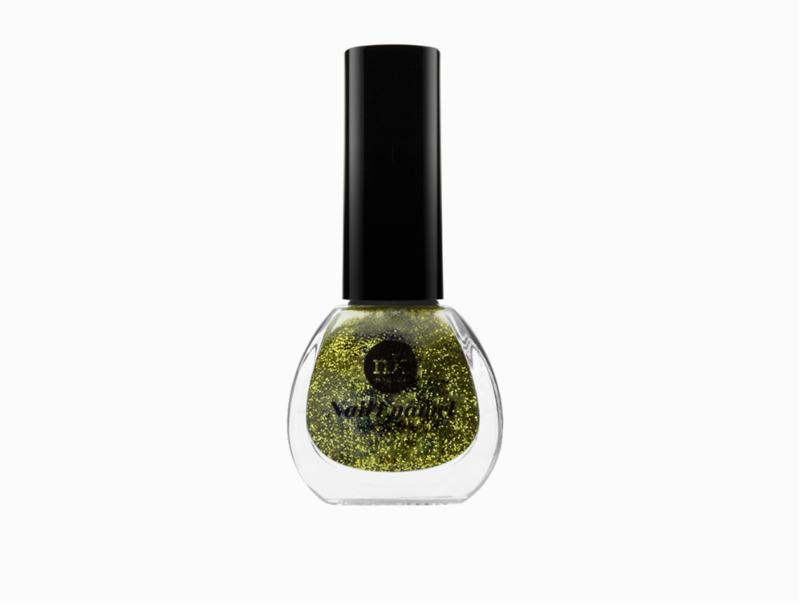 Nk Nail Polish 024 - Gold Glitter