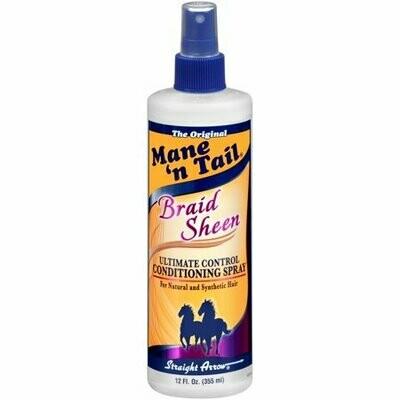 Mane 'N Tail Braid Sheen Spray 12oz