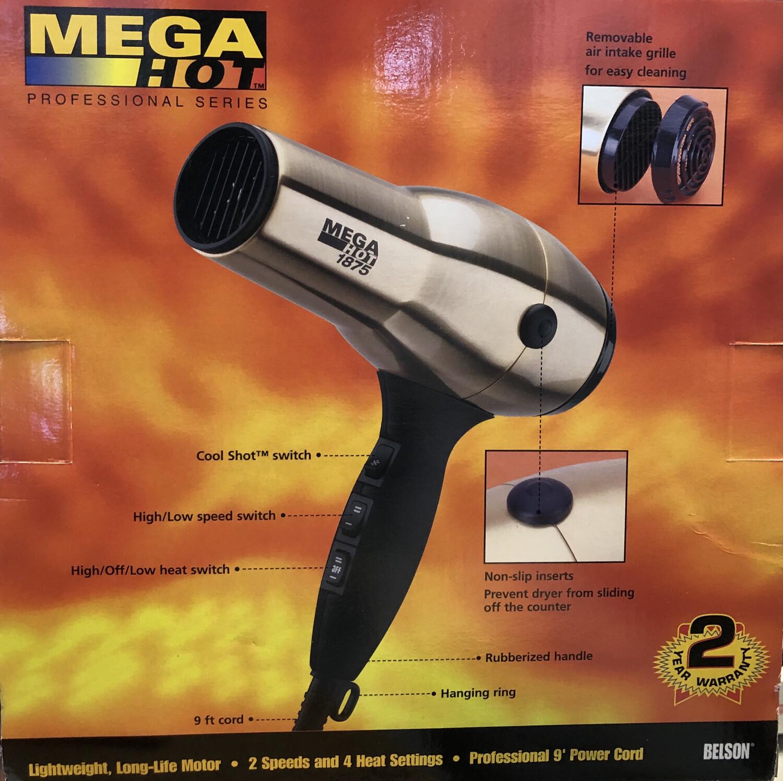 Mega Hot Professional Turbo Dryer