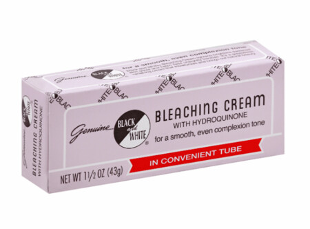 Black And White Bleaching Cream With  Hydro. 1.5oz