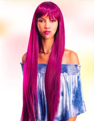 """Biba Carmen Wig Bahama Wave 28"""" Crystal"""