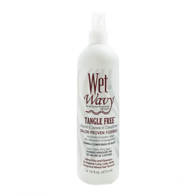 Wet n Wavy Tangle Free Vitamin E Leave-condtioner 12oz
